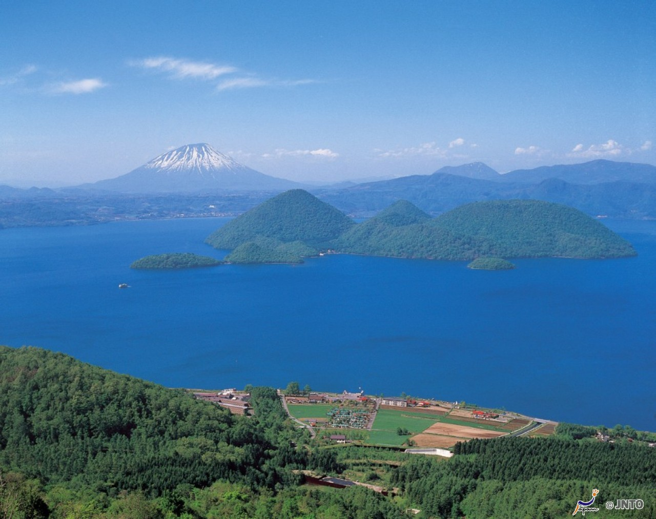 Lake Toya summer